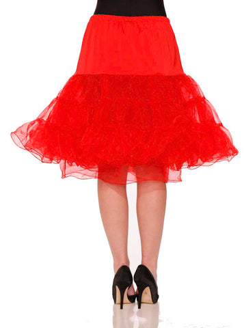 Hearts & Roses Red Petticoat
