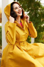 Lorin-Sun Water Resistant Trench Coat by Miss Candyfloss