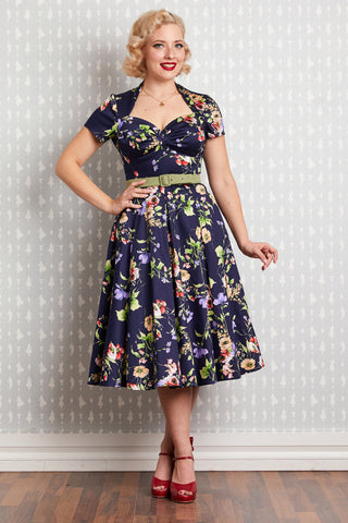 Finella-Lee Floral Dress by Miss Candyfloss