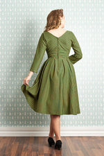 Mathilda-Gia Kelly Green Dress by Miss Candyfloss