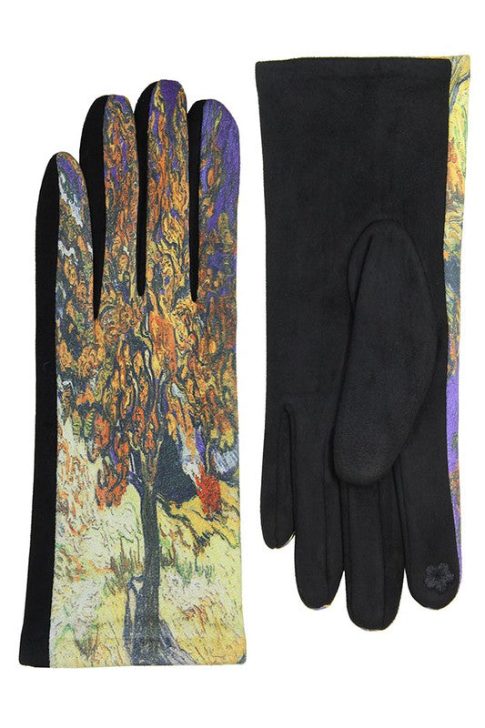 Mulberry Tree Surreal Gloves