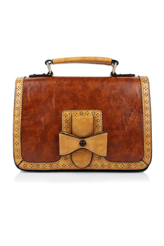 Scandal Messenger Bag by Banned in Brown
