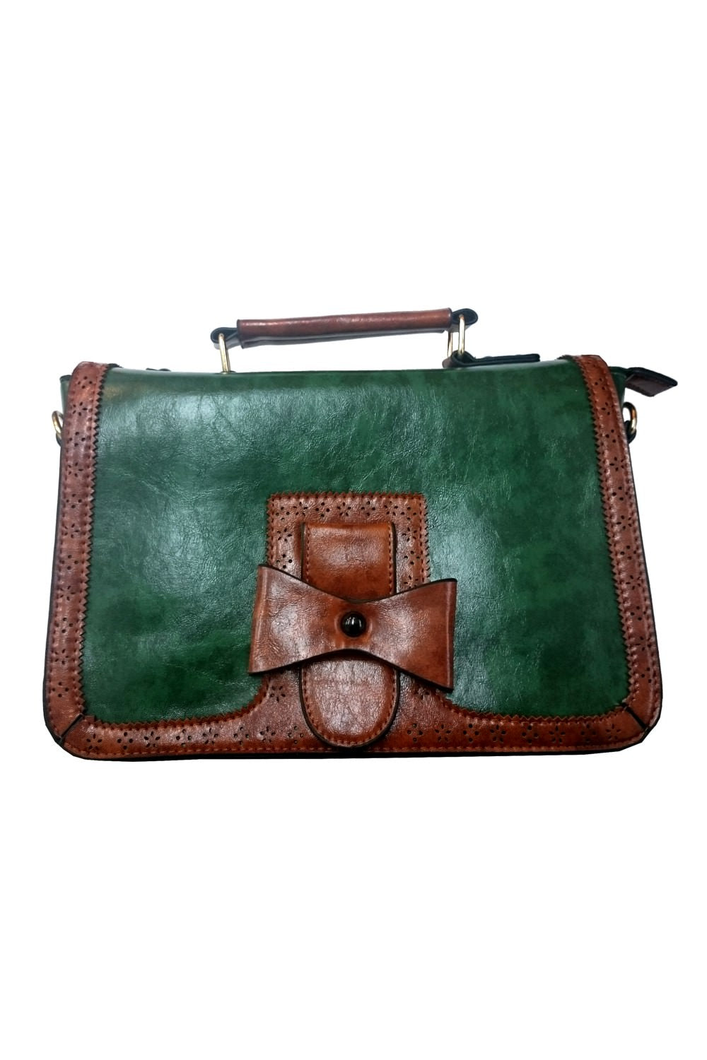 Scandal Messenger Bag by Banned in Olive