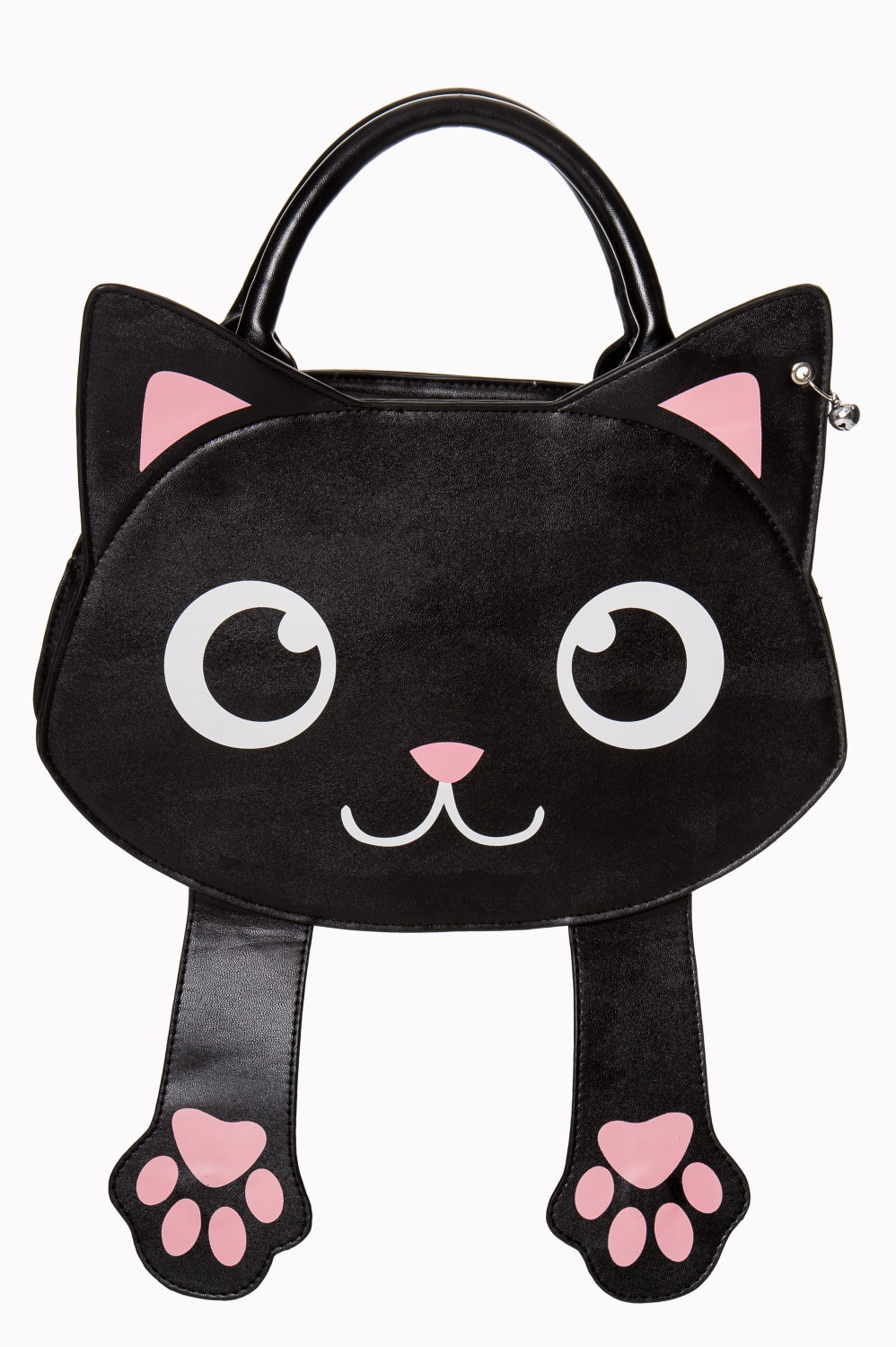 Peek-a-Boo Magnet Kitty Paws Bag by Banned