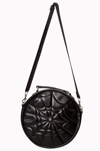 Malice Round Spiderweb Bag