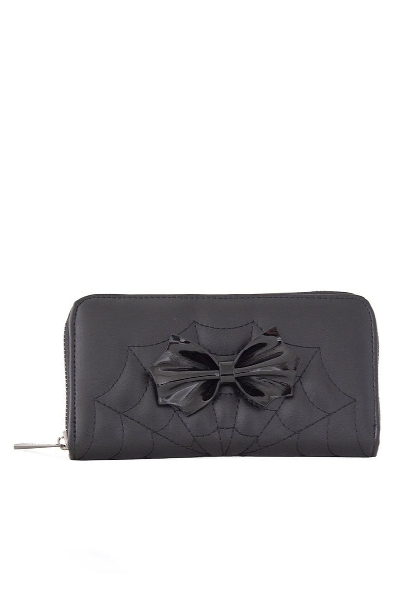 Femme Fatale Spiderweb Wallet by Banned
