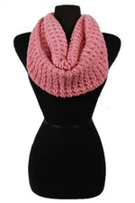 Knit Loop Scarf in Multiple Colors