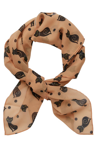 Erstwilder Meow at Midnight Scarf
