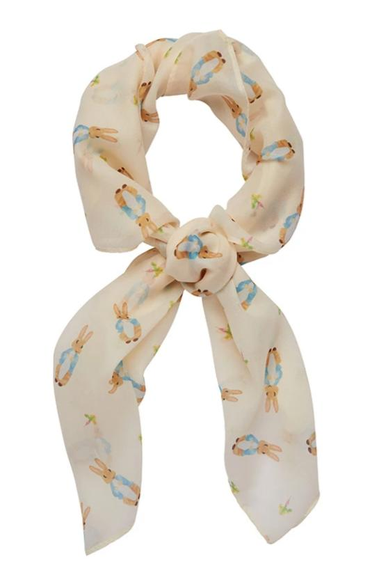 Peter Rabbit Head Scarf by Erstwilder