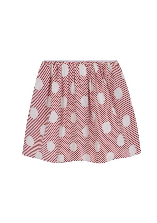 Ant Skirt in Red Polka Dot by Compania Fantastica