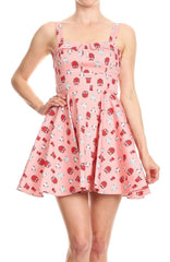 Tie-Back Mini in Pink Owl by Ixia
