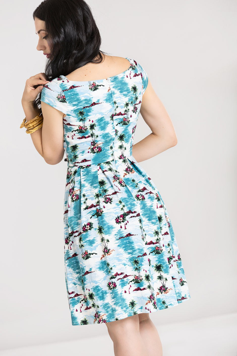 Grace Bay Dress by Hell Bunny