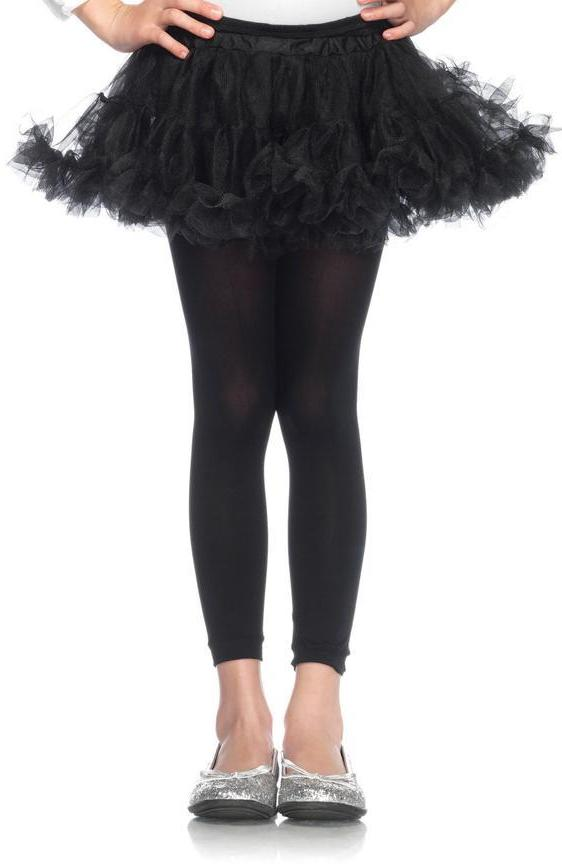 Girls Petticoat in Black by Leg Avenue