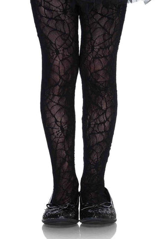 Children's Spider Web Tights by Leg Avenue