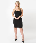 Black Jersey Slip for Under Your Dresses!