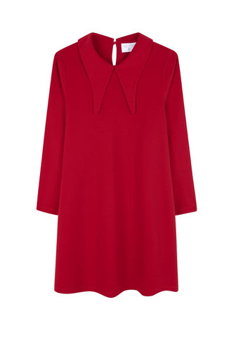 Red Collar Dress by Compania Fantasica