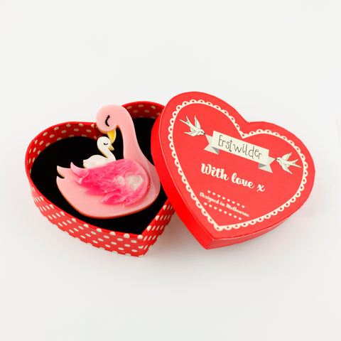 My Little Love Brooch by Erstwilder