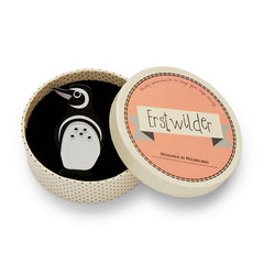 Northside Wanderer Penguin Brooch by Erstwilder