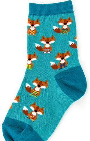 Fox in Socks Socks by Foot Traffic