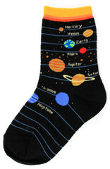 Kid's Planets Socks by Foot Traffic