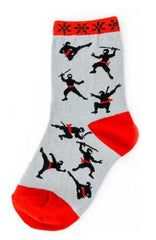 Kid's Ninja Socks by Foot Traffic