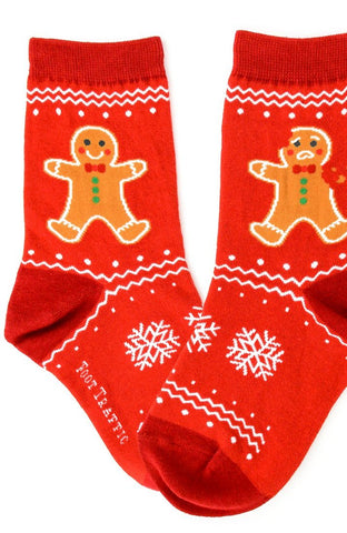 Gingerbread Socks Kids & Youth