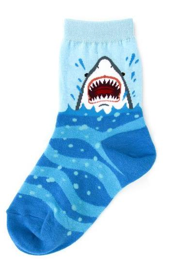 Kid's Shark Attack Socks by Foot Traffic