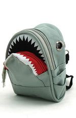 Killer Shark Mini Canvas Crossbody Bag