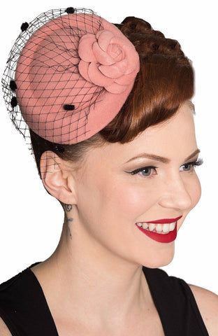 Mini Pillbox Fascinator