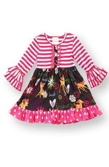 Girl's Pink Bambi Dress