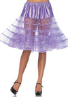 Knee Length Petticoat Available in Multiple Colors!