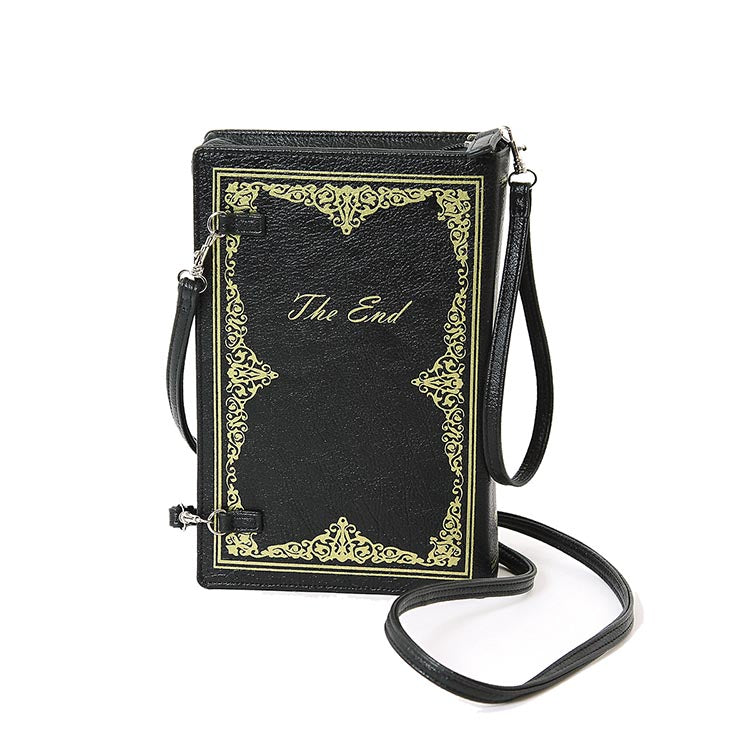 Vintage Storybook Cross-Body Bag