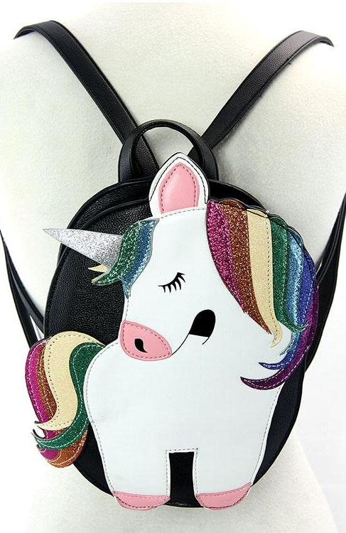 Glittery Unicorn Backpack by Sleepyville Critters