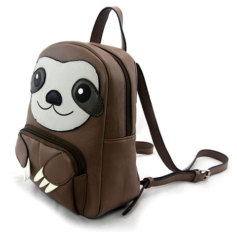 Sloth Backpack in Brown by Sleepyville Critters