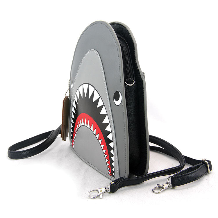 Scary Shark Cross-body Bag