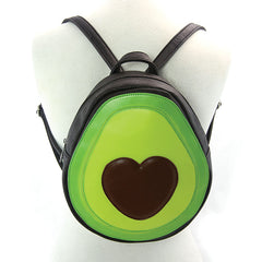 Avocado Backpack with Heart
