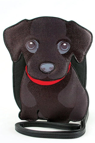 Black Lab Cross-body Bag