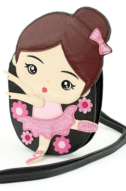 Brunette Ballerina Cross-body Bag