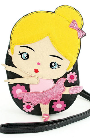Blonde Ballerina Cross-body Bag