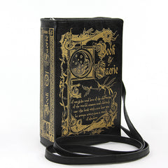 Book of Faerie Crossbody Bag