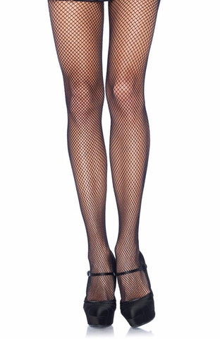 Leg Avenue Black Plus Size Fishnet Tights