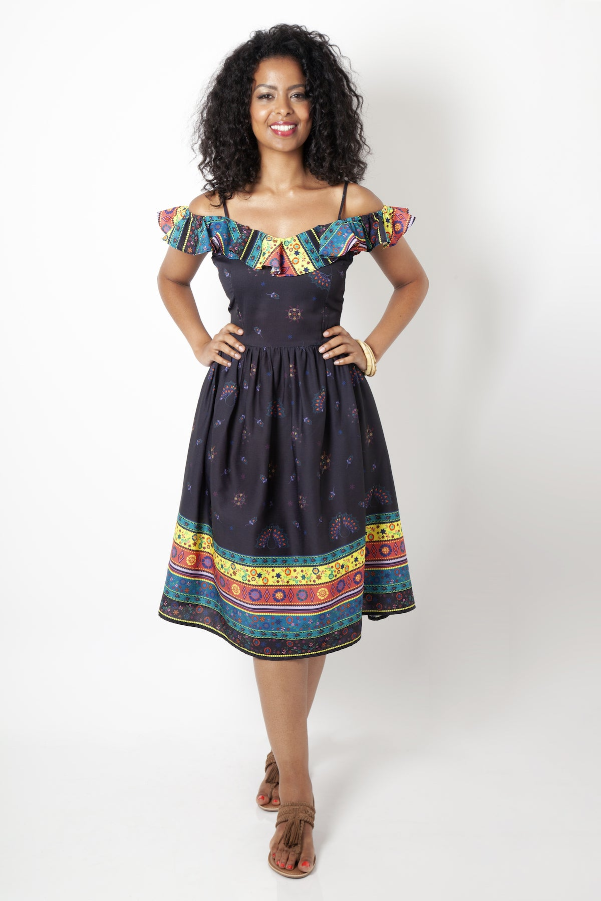 Shannon Off the Shoulder Dress by Voodoo Vixen