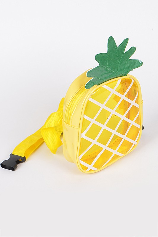 Pineapple Clear Fanny Pack Belt