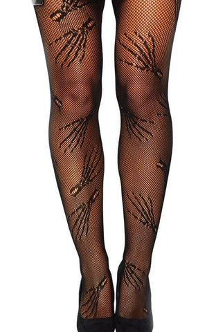 Zombie Net Tights by Leg Avenue