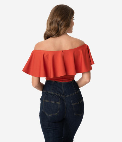 Frenchie Top in Paprika
