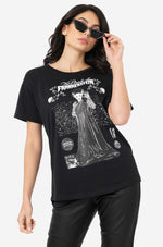 Universal Monsters Bride of Frankenstein Relaxed T-Shirt Top