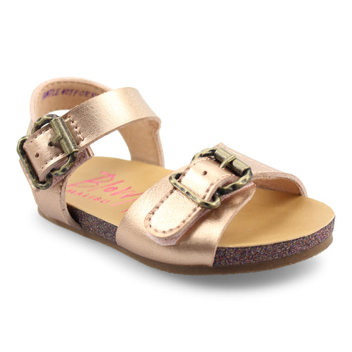 Rose Gold Glexie Kids Sandal by Blowfish