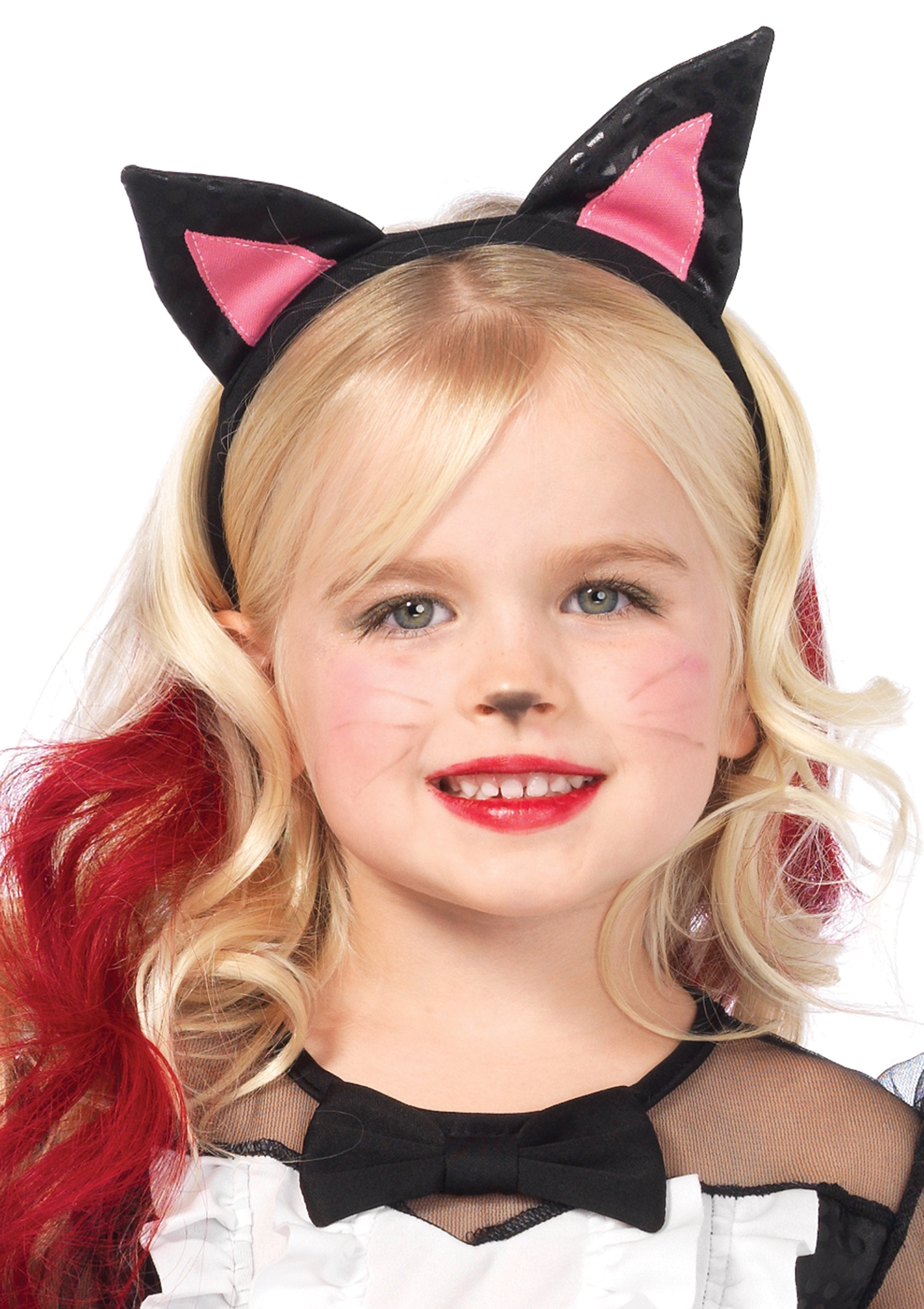 Girls Halloween Kitty Costume