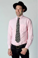 Darren Tie in Black & White Polka Dot by Tailor & Twirl