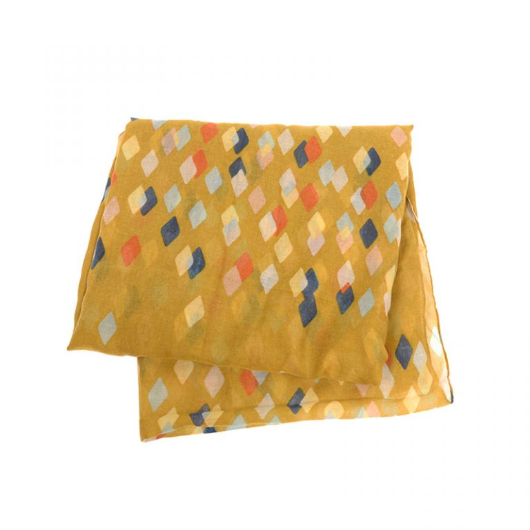 Mustard Diamond Scarf